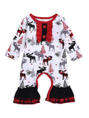 Baby Xmas Overall-front