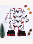 Baby Xmas Overall-back