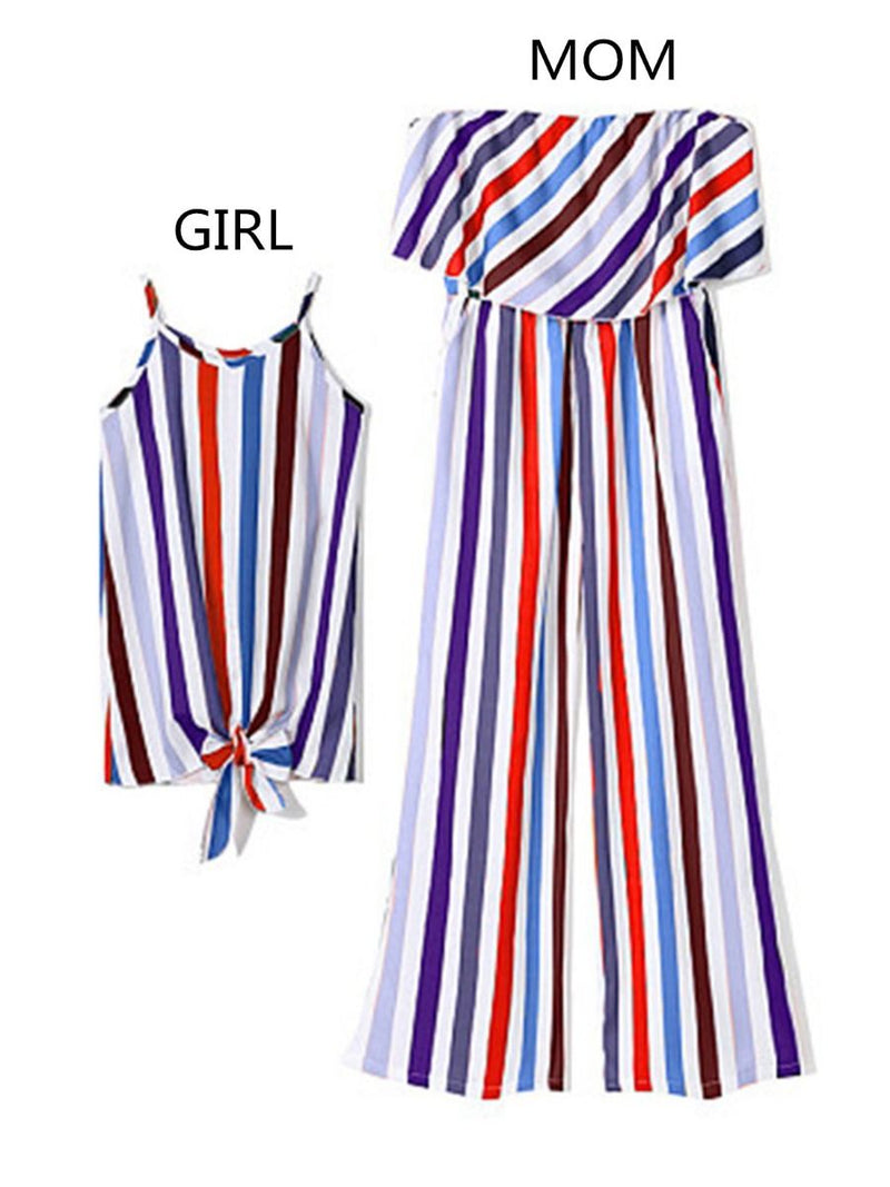 Stripe Dress Outfit