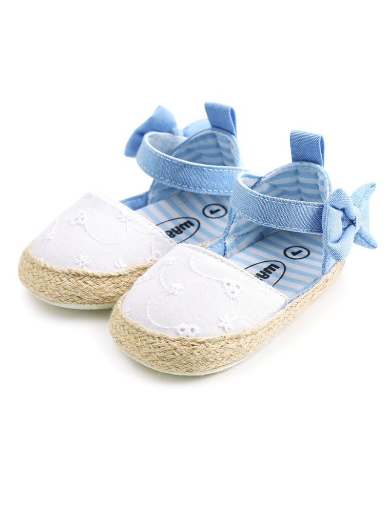 Baby Girl Crib Shoes-white