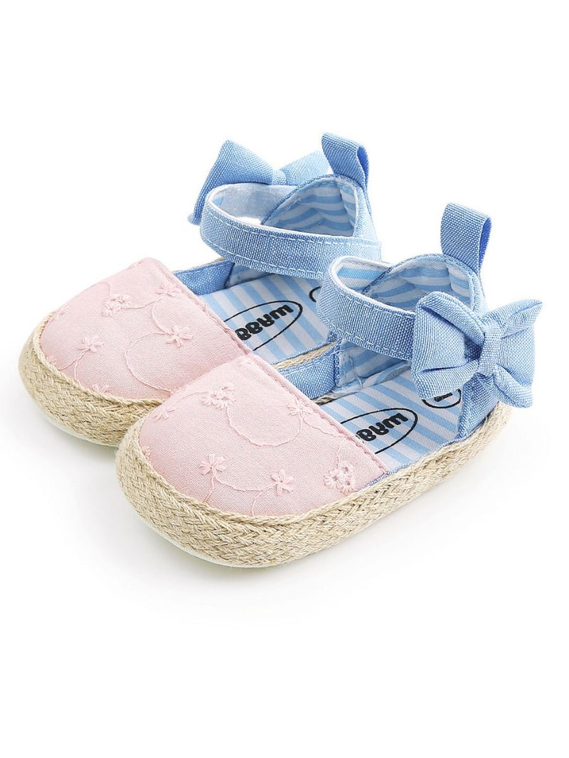 Baby Girl Crib Shoes-pink
