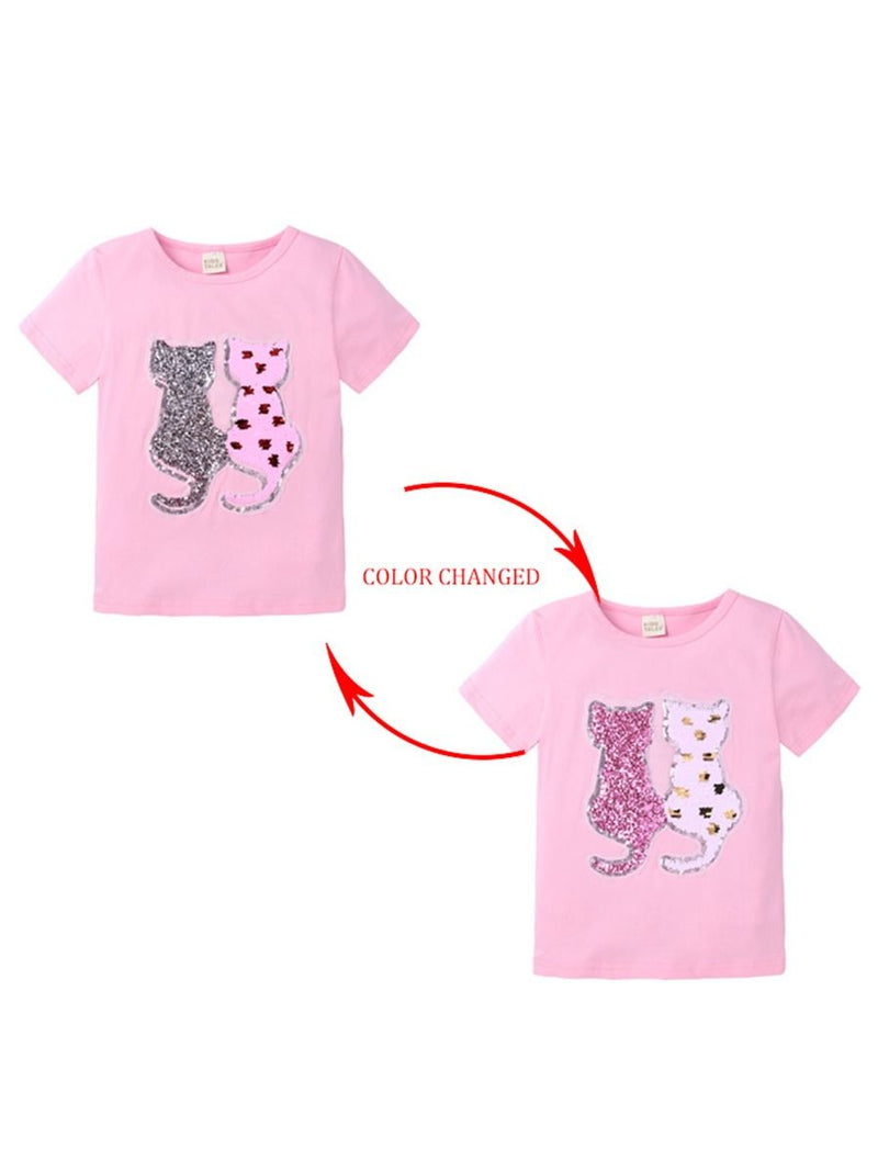 Sequins Animal Top-Pattern 2