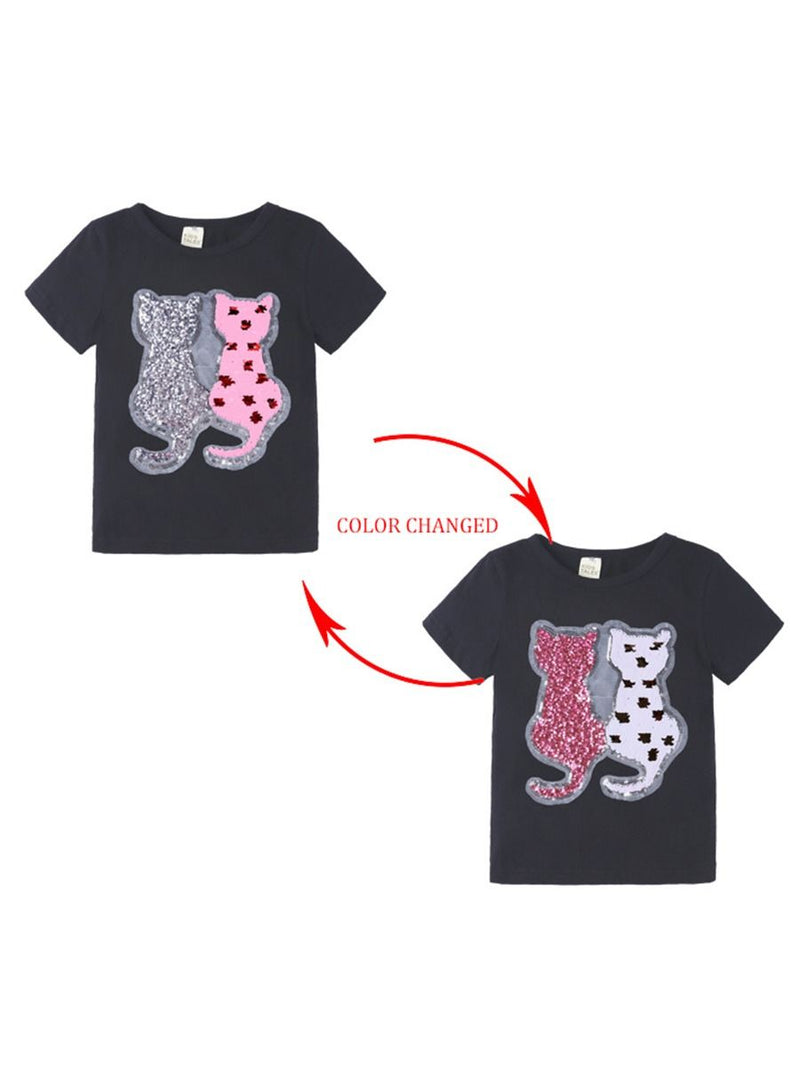 Sequins Animal Top-Pattern 3
