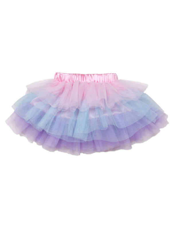 Cute Colorful Clothing Baby Toddler Girl Kids Dance Tutu Skirt