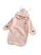 Cute Rabbit Sleep Suit Pattern Knitted Sleeping Bag for Under 73CM For Baby Boys Girls Pajamas