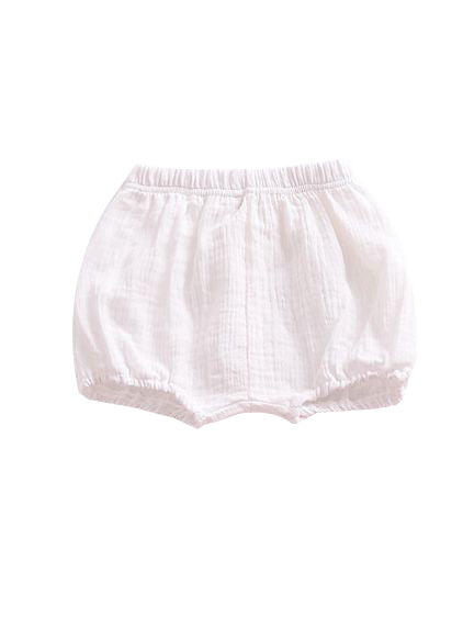 White Short Pants