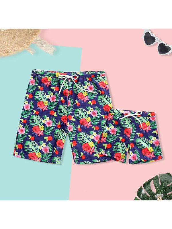 Dad & Son Beach Shorts