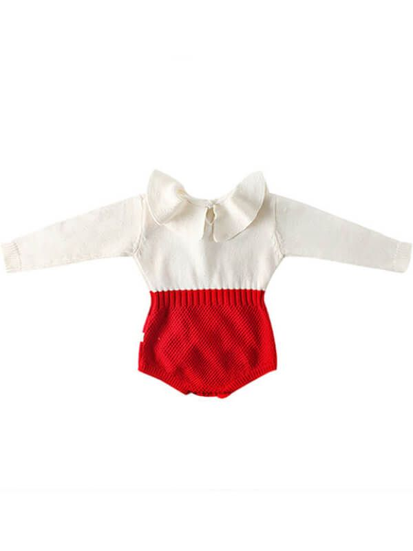 Red Romper for Babies