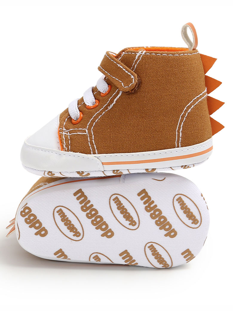Fall Fashion Dinosaur Design Baby Boys Ankle Shoes