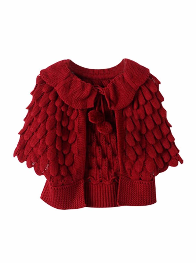 Crochet Coats-red
