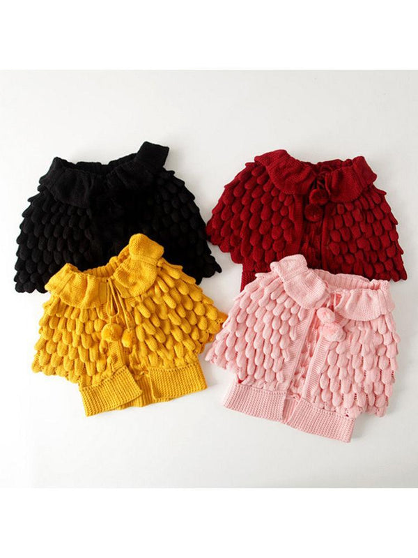 Crochet Coats-multi color