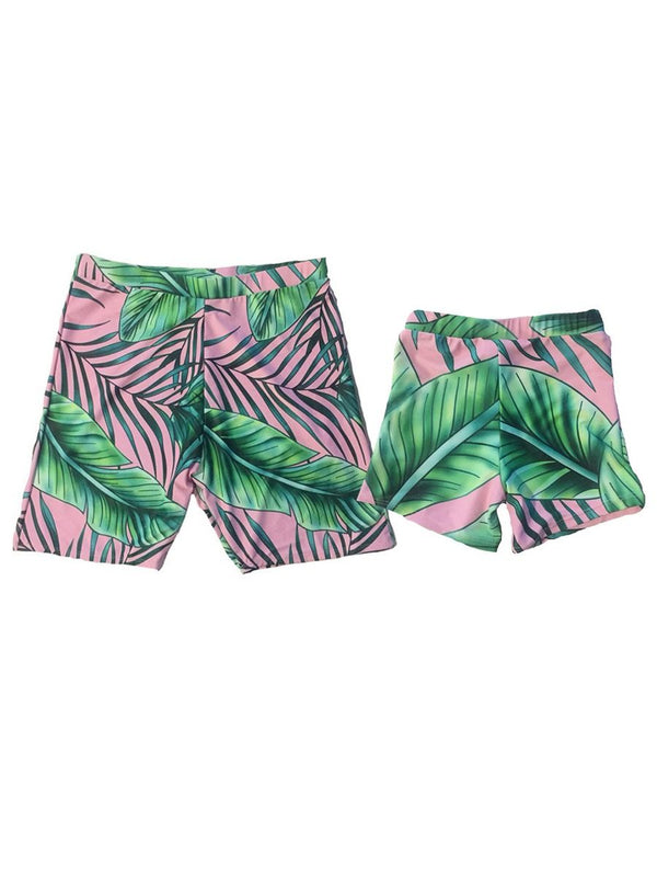 Swimming Wear-dad & son