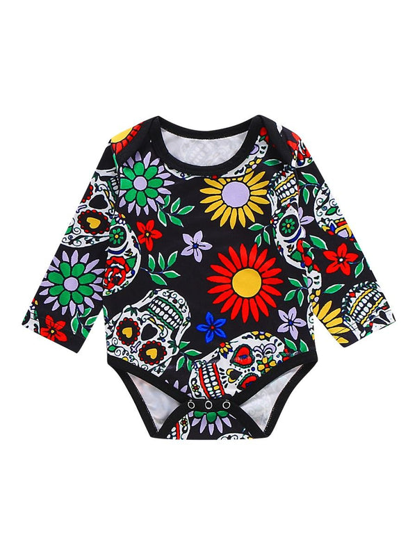 Flower Printed Bodysuit