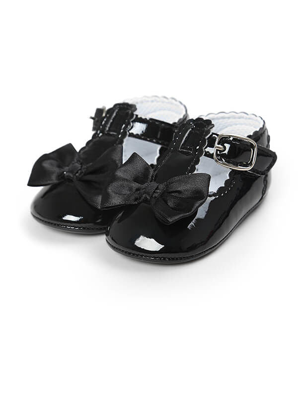 Baby Girls Antiskid Prewalker-black