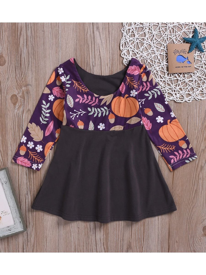 Pumpkin Dress-back