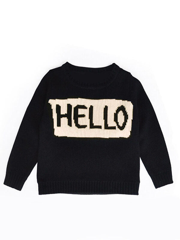 Boys Girls Mothers Sweater