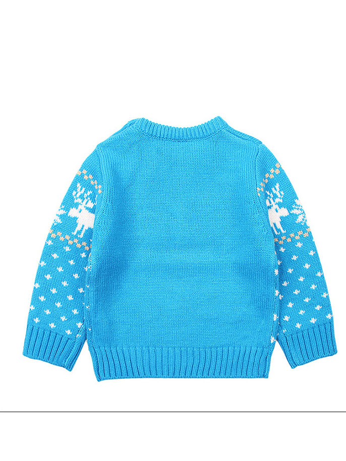 Baby Boy Crochet Sweatshirt
