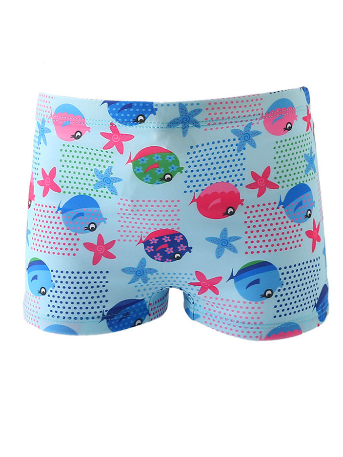 Baby Boys Swimwear Shorts-Pattern 4