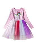 Long Sleeve Tulle Princess Dress