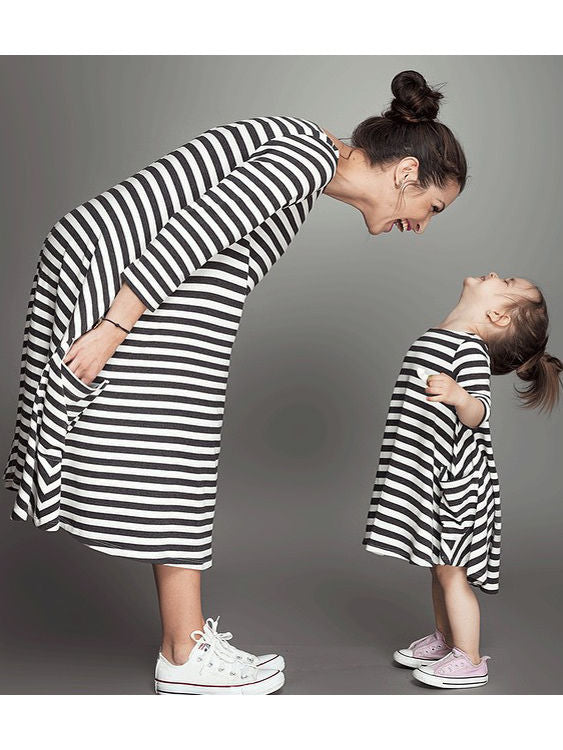 Mom & Daughter Dress