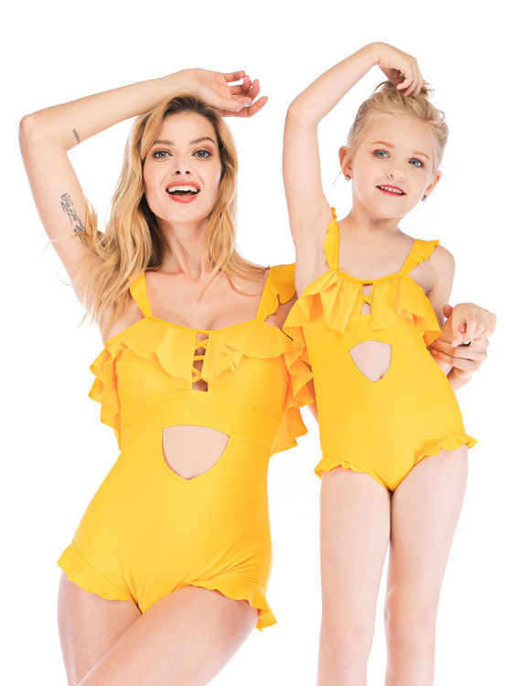 Mommy & Daughter Beach Wear