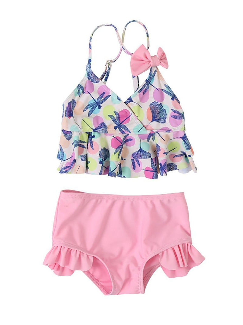 Mommy and Daguther Dragonfly Tankini Swimwear