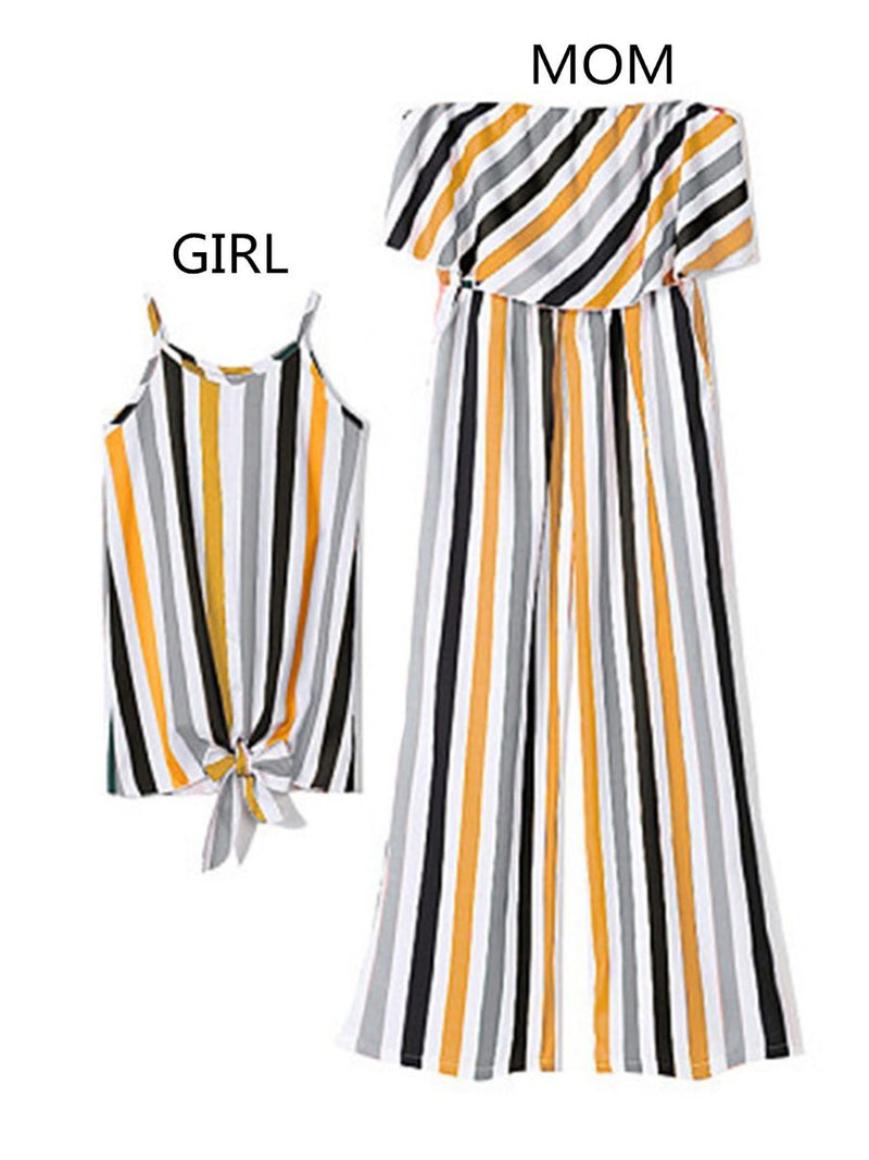 Mommy and Me Stripe Dress