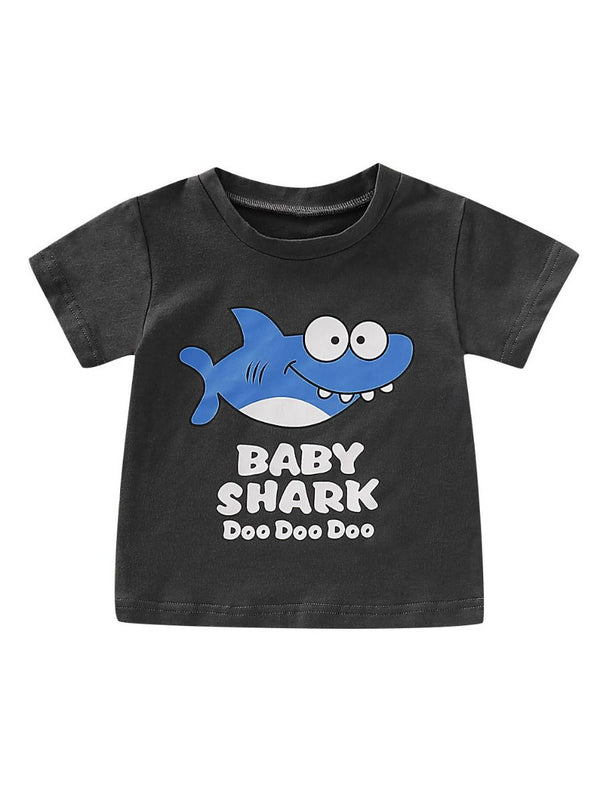 Baby Boy  Cotton Blend T-shirt