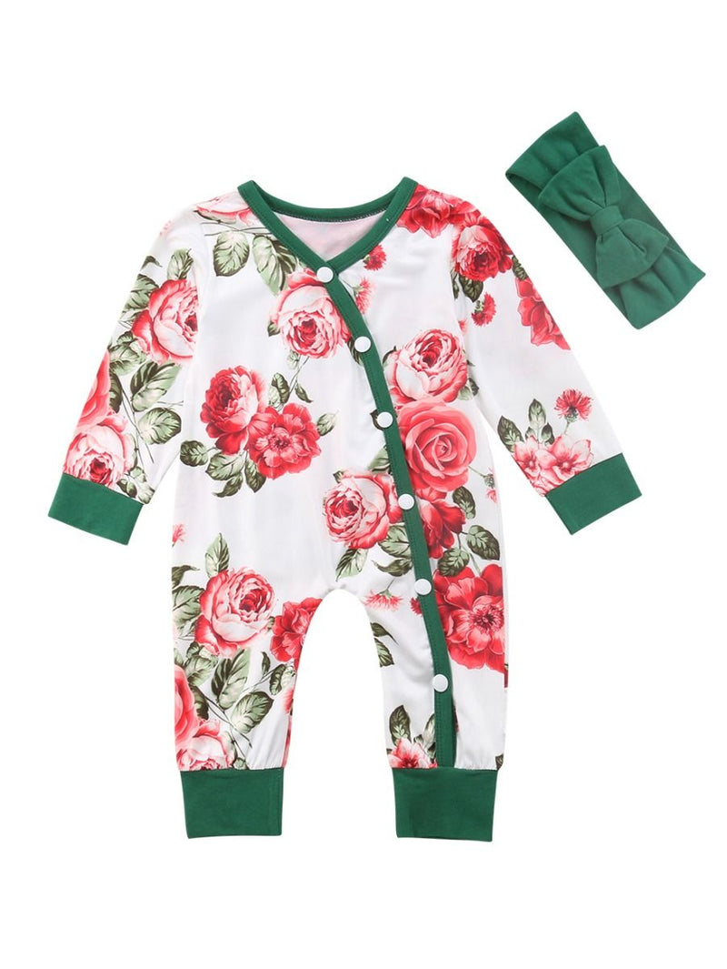 Long-sleeved Sleepsuit Overalls