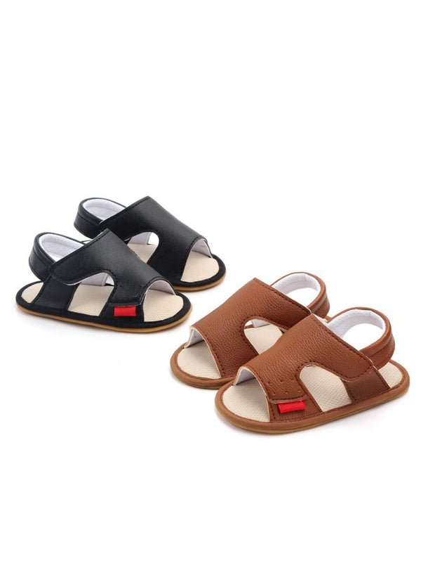 Solid Color Baby Sandals
