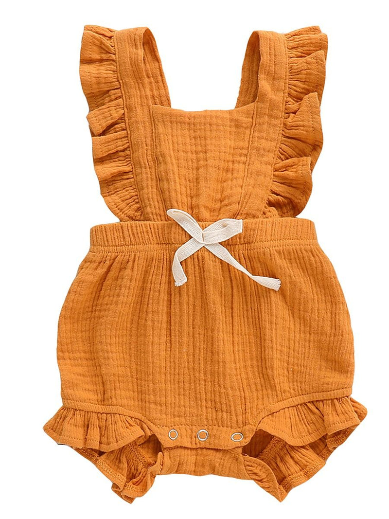 Summer Bow Bodysuit-Ginger
