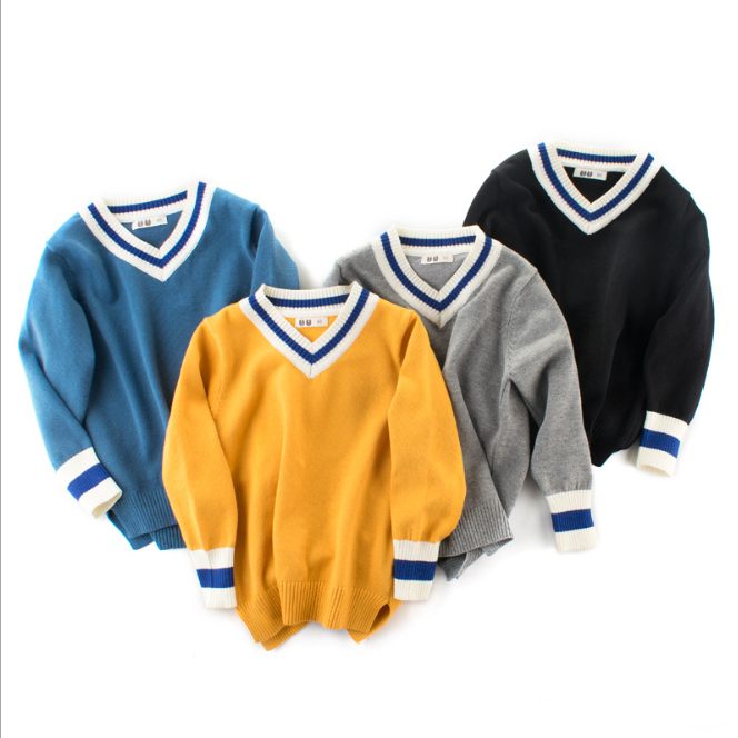 Color Blocking Knitted Wear