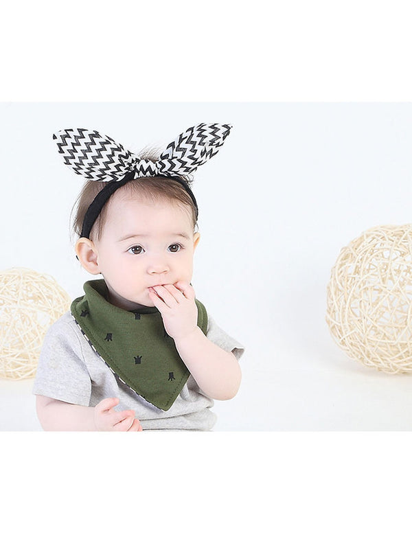 Cute Baby Bib-Green