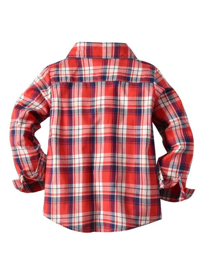 Checked Shirt-back