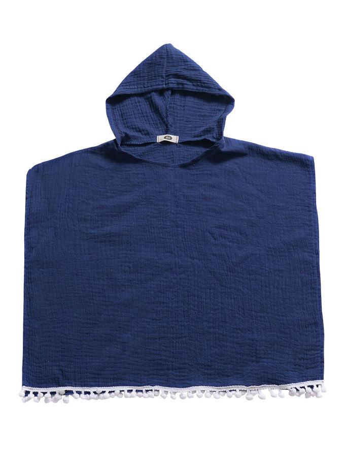 Hooded Beach Suit-Deepblue