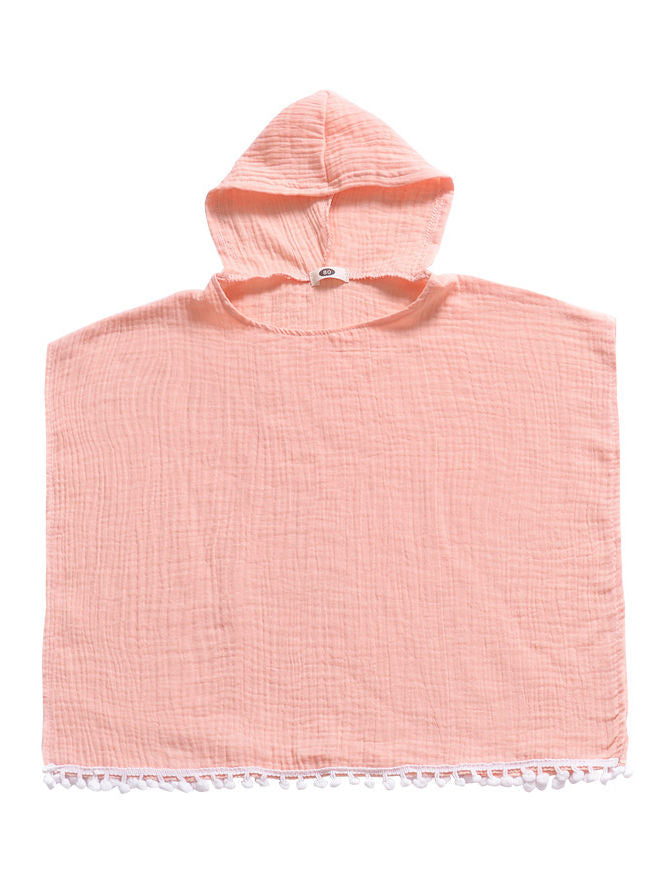 Hooded Beach Suit-Pink