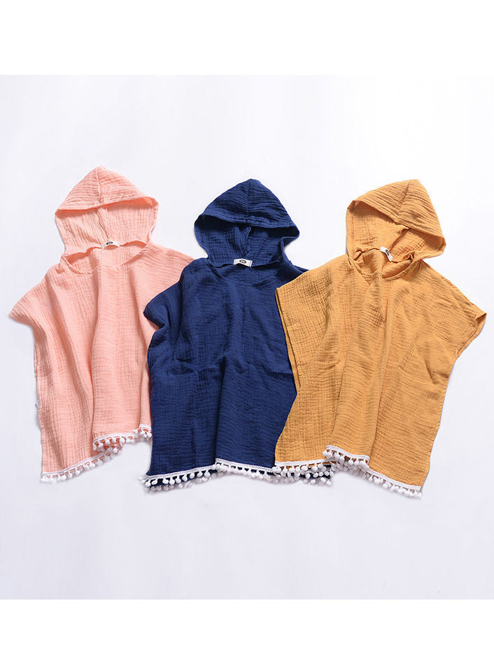 Solid Color Hoodies Beach Suit