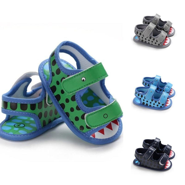 Cute Animal Style Shoes Velcro Baby Boy Sandal