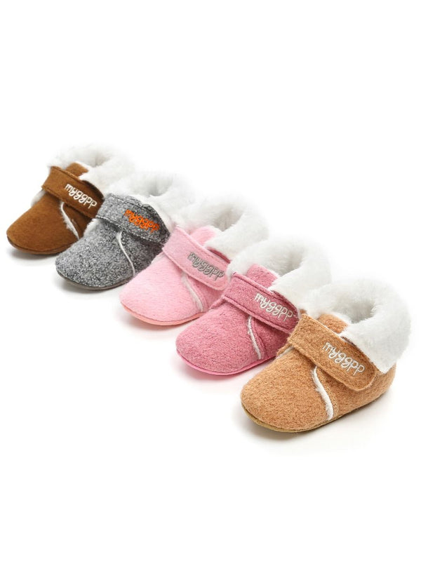 Soft Fur Boots-Multi Color
