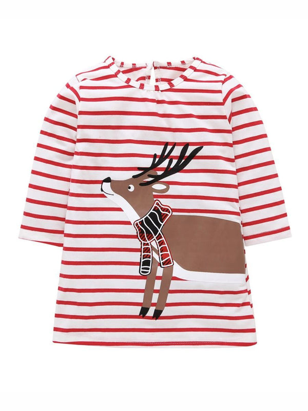 Christmas Reindeer Dress-front