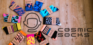 Cosmic Socks - Cycling Socks Banner