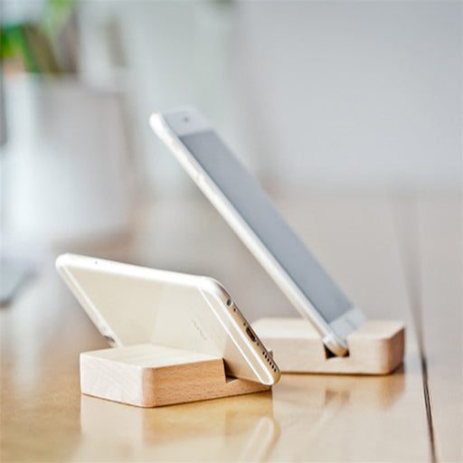 Bamboo Wooden Phone Holder