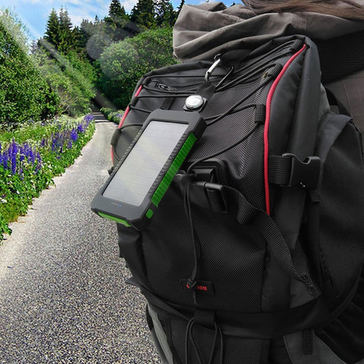 RUGGED & WATERPROOF SOLAR PANEL CHARGER