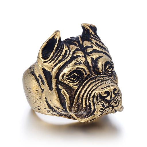 Pitbull Bulldog Ring
