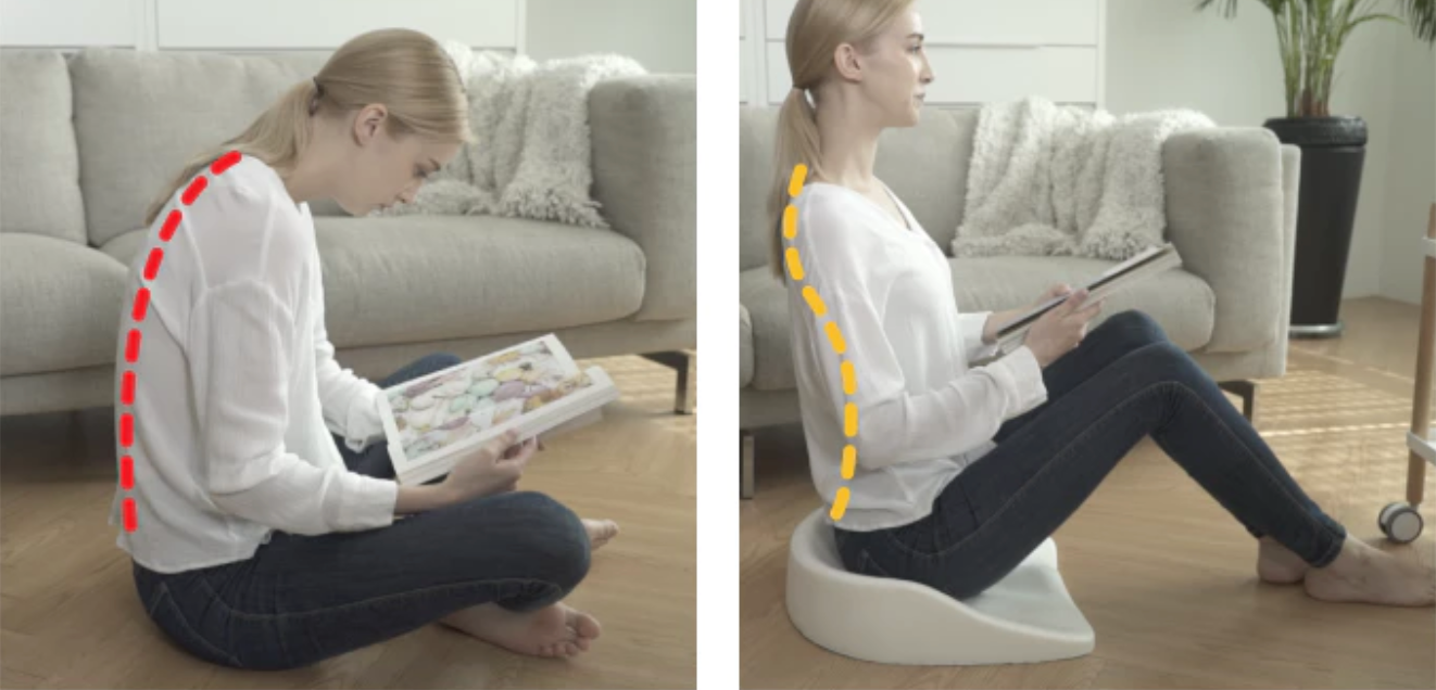 Weightless Sitting - Upright Posture Cushion