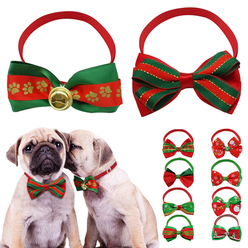 10 Cute Dog Christmas Bowtie