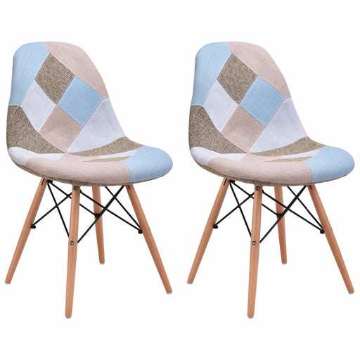 Abstract New York Dining Side Chair (Set of 2)