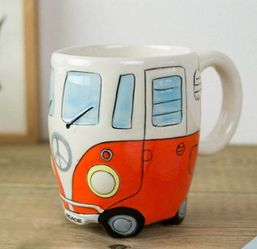 Cartoon Bus Mug