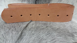 "SOUTHERN SADDLERY & SUPPLIES - T.M. - Saddle Maker Supplies - 2 1/2"" Stirrup Leathers with Holes"