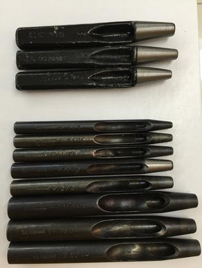 Leather Tools - C.S. Osborne Round Punches 7-10 plus sizes